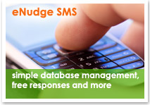 eNudge sms marketing and delivery solution